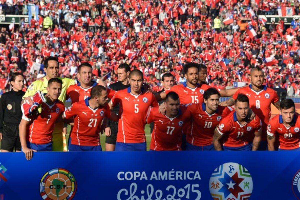 1. Chile campeón de la Copa América 2015 Foto:Getty Images