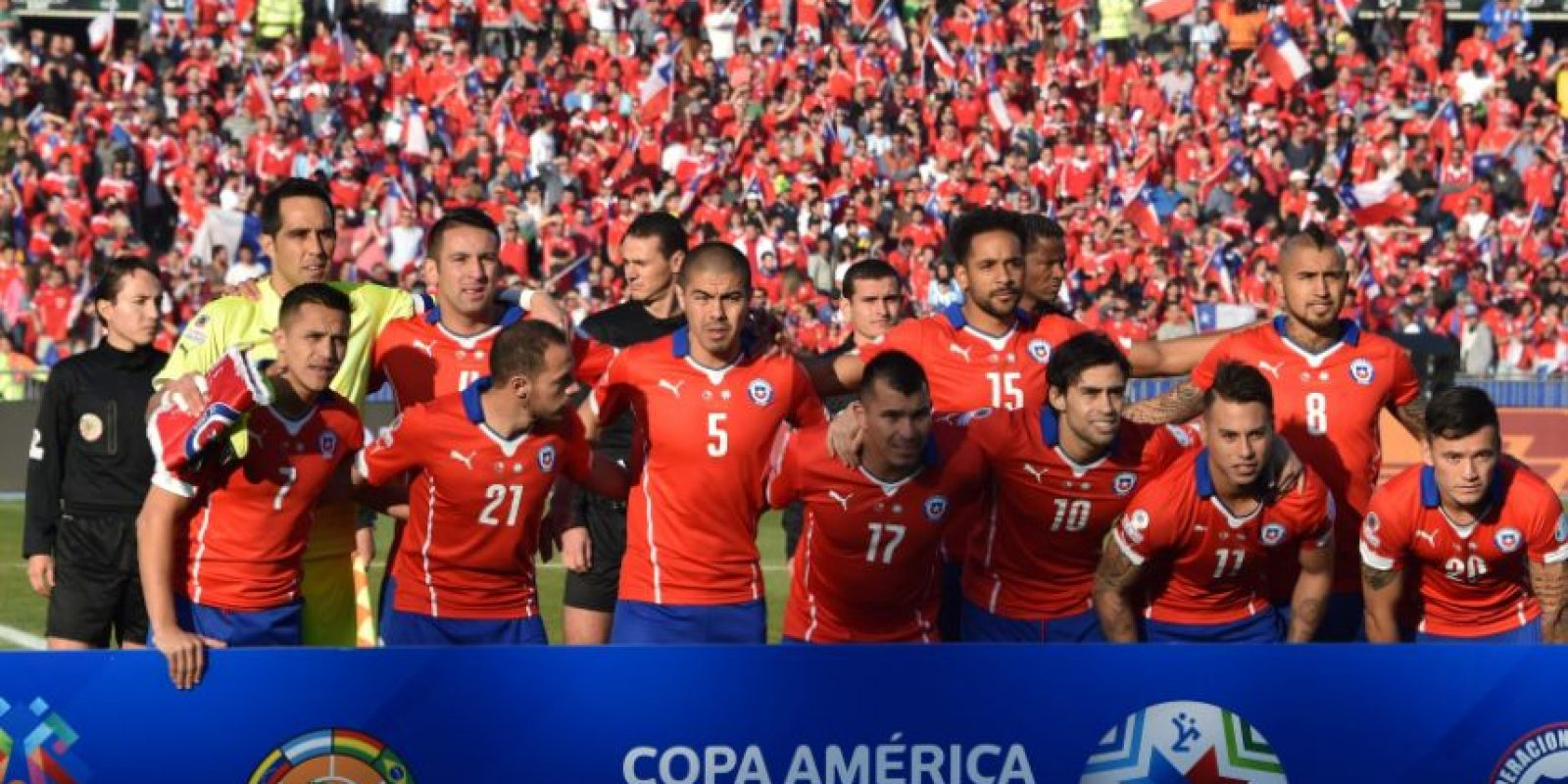 1. Chile campeón de la Copa América 2015 Foto: Getty Images