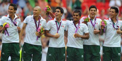 2. México ganador de la medalla de oro olímpica Foto:Getty Images