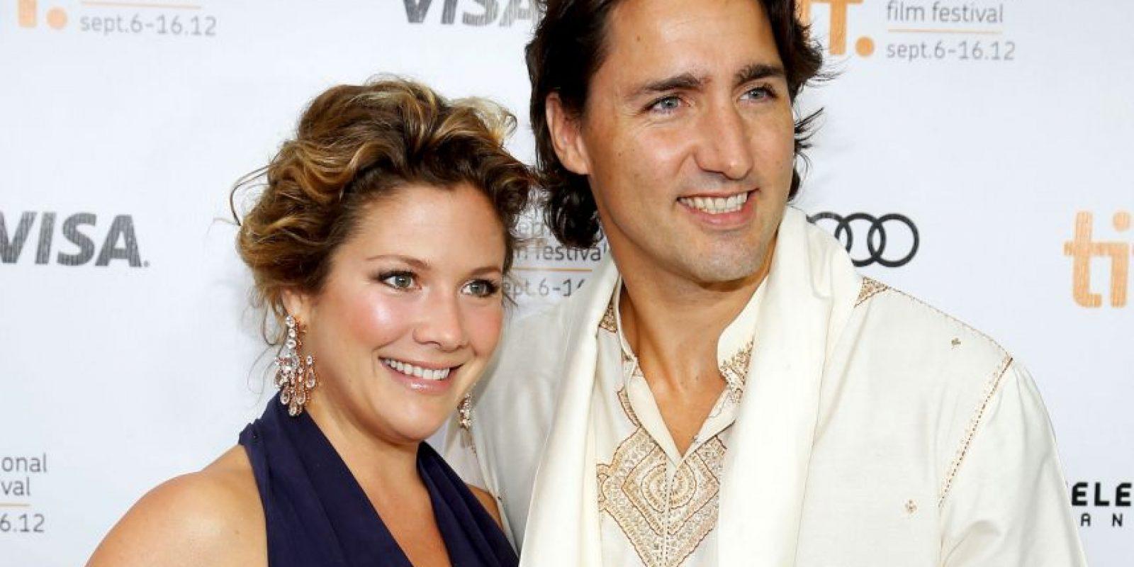 Está casado con Sophie Grégorie, periodista de espectáculos en Canadá Foto:Getty Images