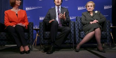 Es hijo de Pierre Trudeadu, exprimer ministro también Foto:Getty Images