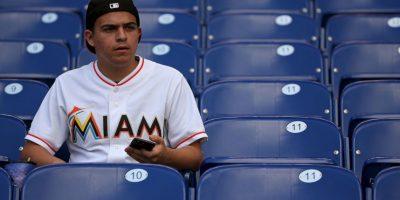 """Otra de las predicciones de """"Volver al Futuro II"""" afirmaba que un equipo de Miami llegaría a la Serie Mundial, lo cual no ocurrió. Foto:Getty Images"""