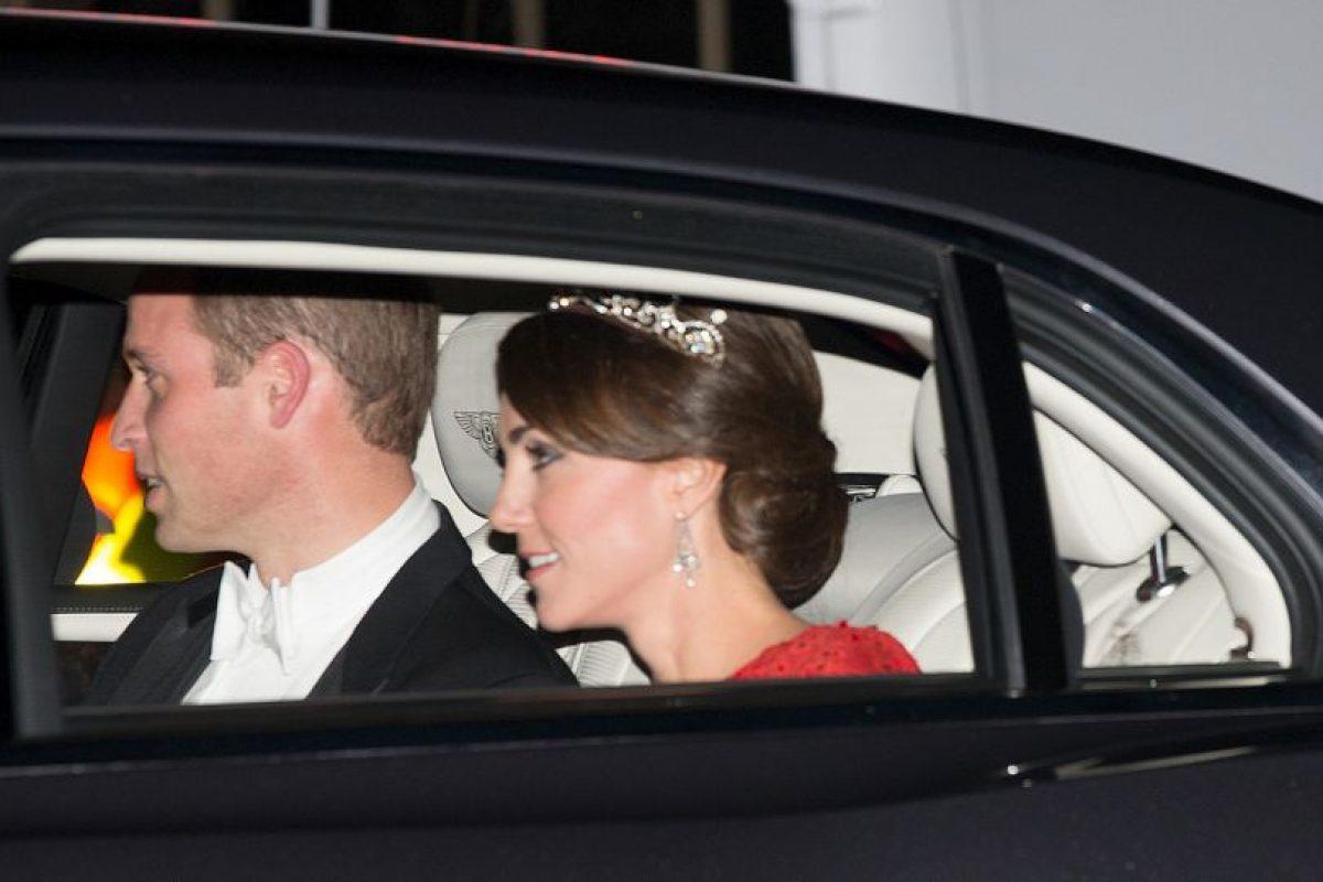 La princesa Catalina utilizó la tiara Papyrus. Foto:Getty Images