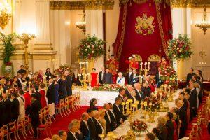 Se llevó a cabo con motivo a la visita del presidente de China, Xi Jingping. Foto:Getty Images
