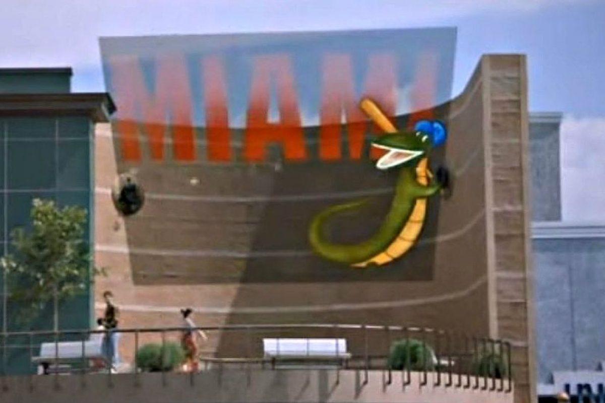 """1) Cubs vence a un equipo llamado los """"Lagartos"""" de Miami Foto:Universal Pictures"""