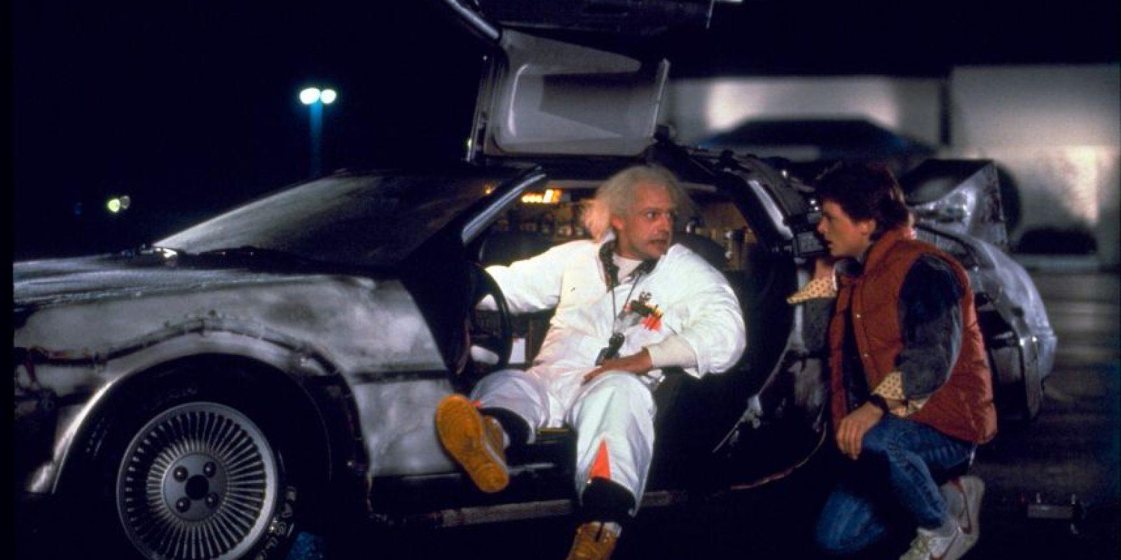 """El 21 de octubre de 2015, fue el día en que Marty McFly"""" y el """"Doc Emmert Brown"""" viajaron al futuro."""