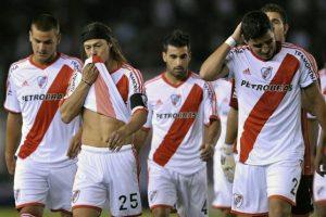 9. River Plate pierde la categoría Foto:Getty Images