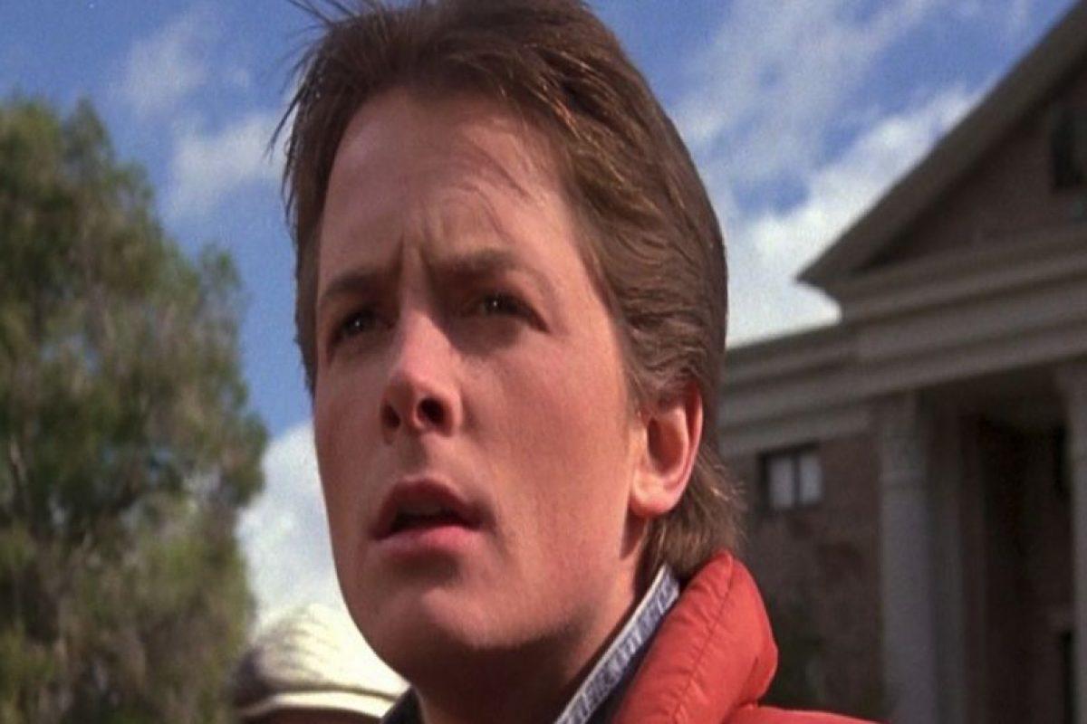 Marty McFly (Michael J. Fox) Foto:Vía imdb.com