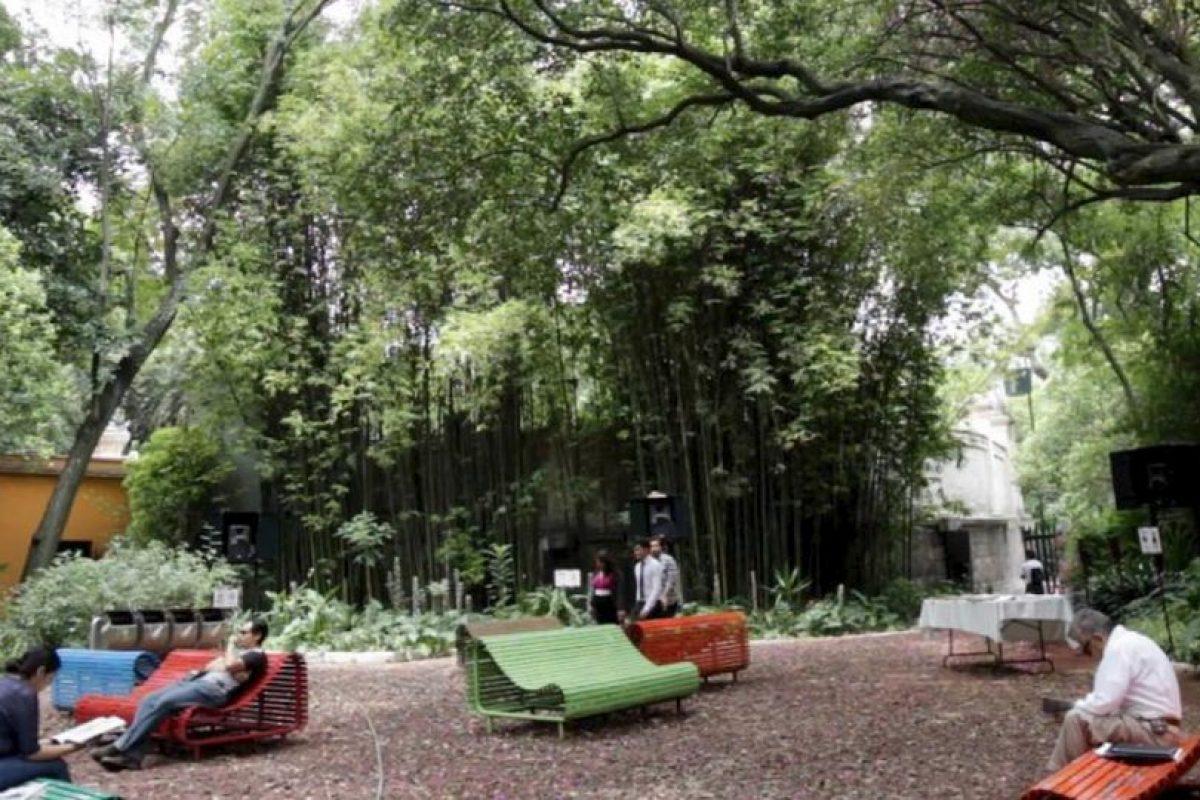 Audiorama de Chapultepec. Un refugio para descansar y tener una buena lectura, se encuentra cerca del Castillo de Chapultepec. Foto:Vía twitter.com/CapitalMexico