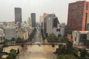 Los visitantes pueden ver el centro de la ciudad desde uno de los monumentos históricos más importantes de México. Foto:Vía twitter.com/CapitalMexico