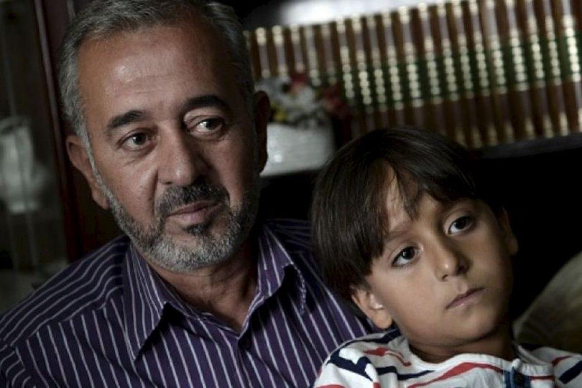 Se trata de Osama Abdul Mohsen, a quien el gobierno español decidió ayudar. Foto:Getty Images