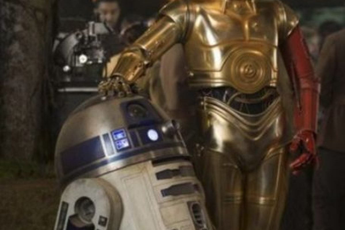 C3PO y R2D2 Foto:Lucasfilm