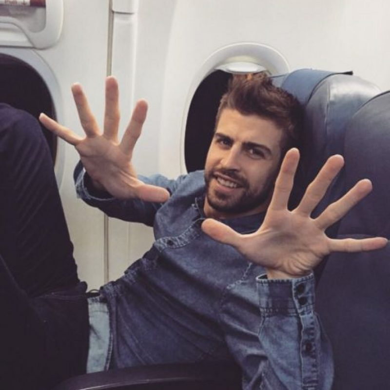 »Tu actor favorito Foto: Vía instagram.com/3gerrardpique