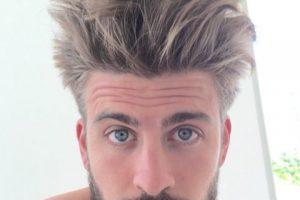 """""""Nunca me han quedado bien los peinados de actor porno"""". Foto:Vía instagram.com/3gerrardpique"""
