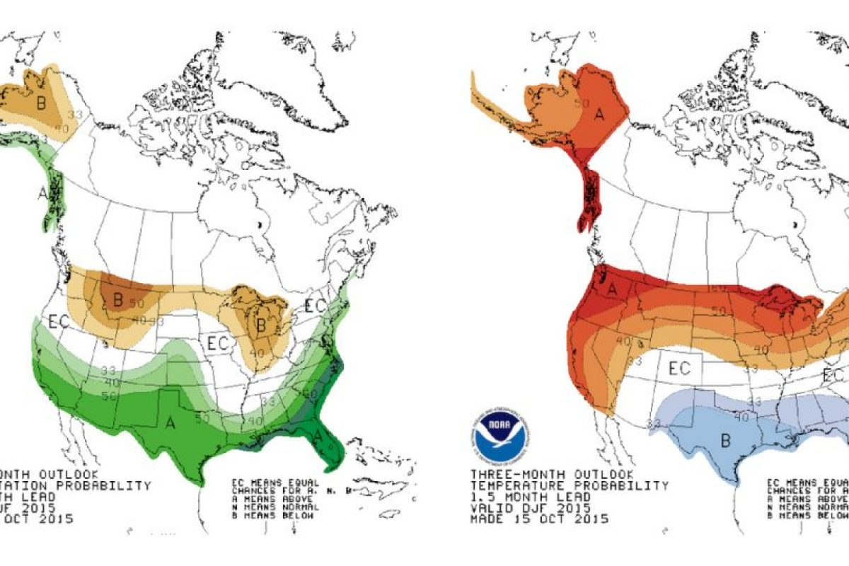 El fenómeno de El Niño de destaca por los cambios en las temperaturas en el Pacífico tropical. Foto:AP