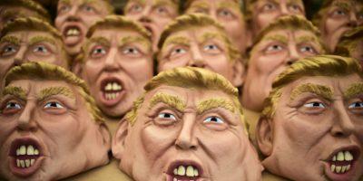 Con todo y sus polémicas Trump será muy visto por las calles Foto:AFP