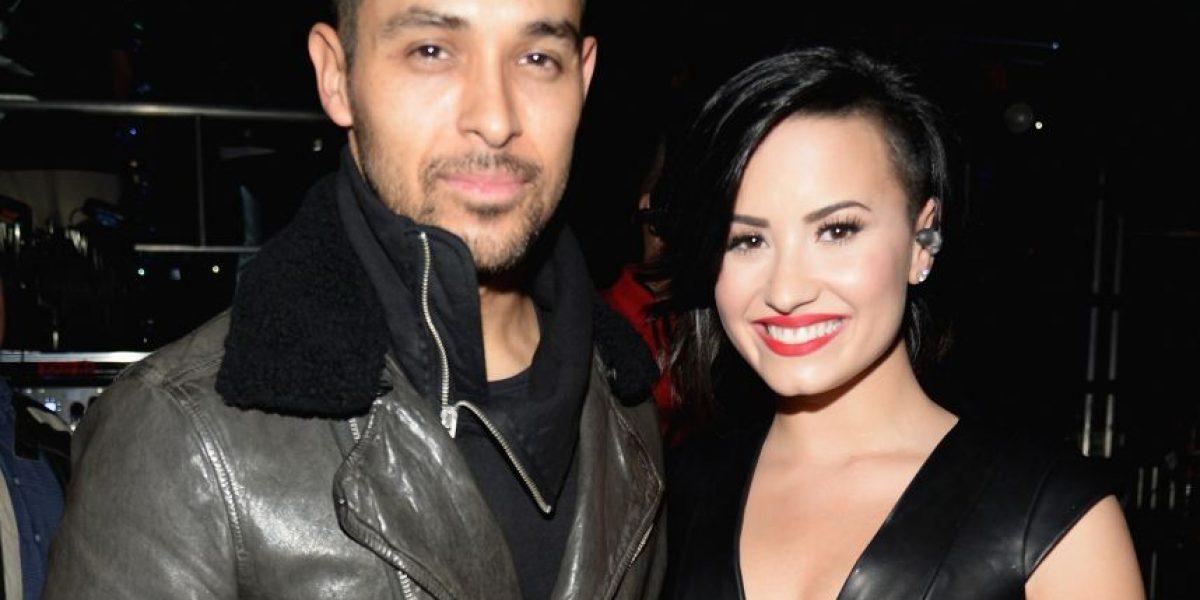 Novio de Demi Lovato publica foto junto a ella en la cama