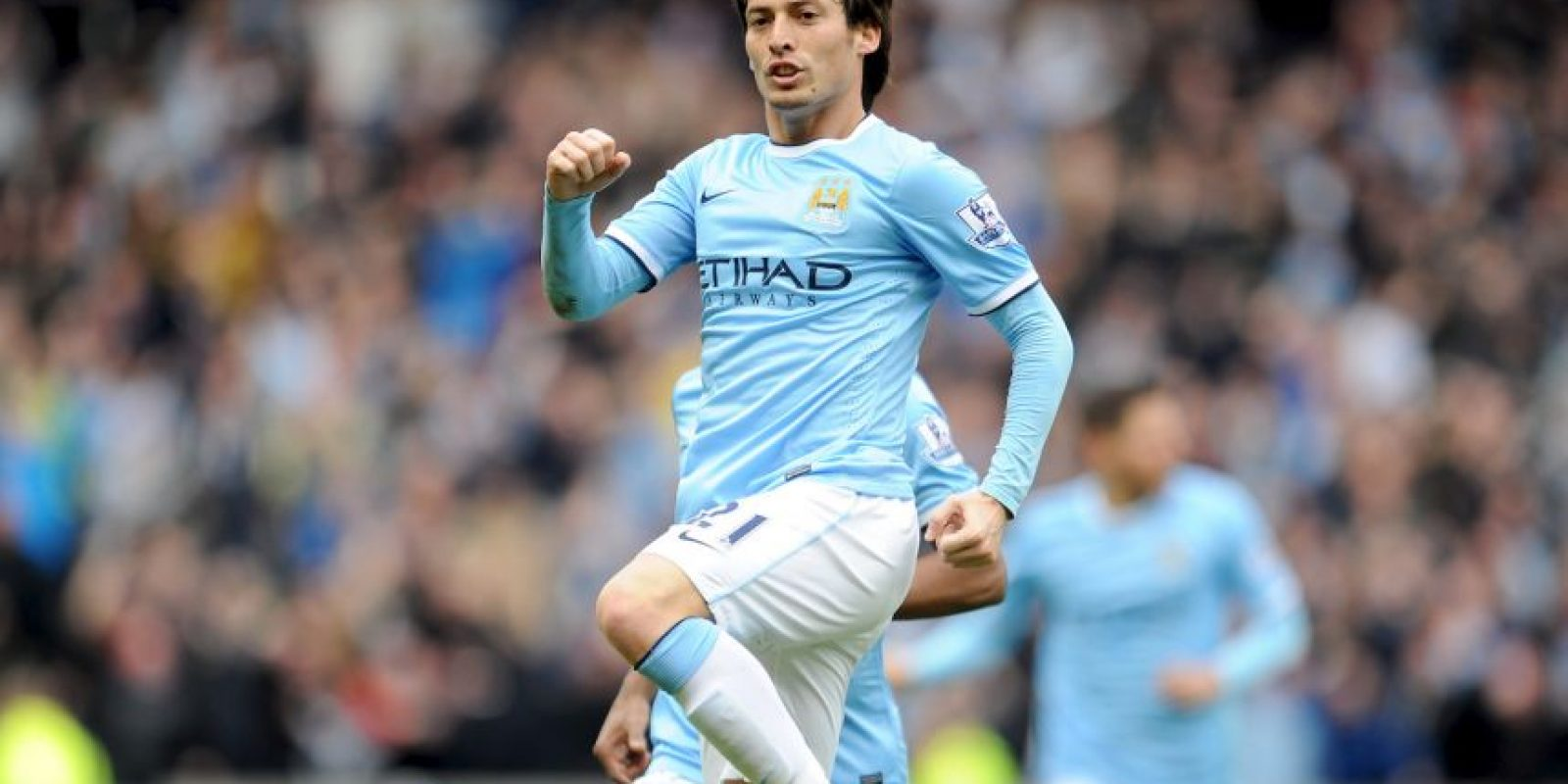 20. David Silva (Manchester United/España) » 17.3 millones de dólares. Foto: Getty Images