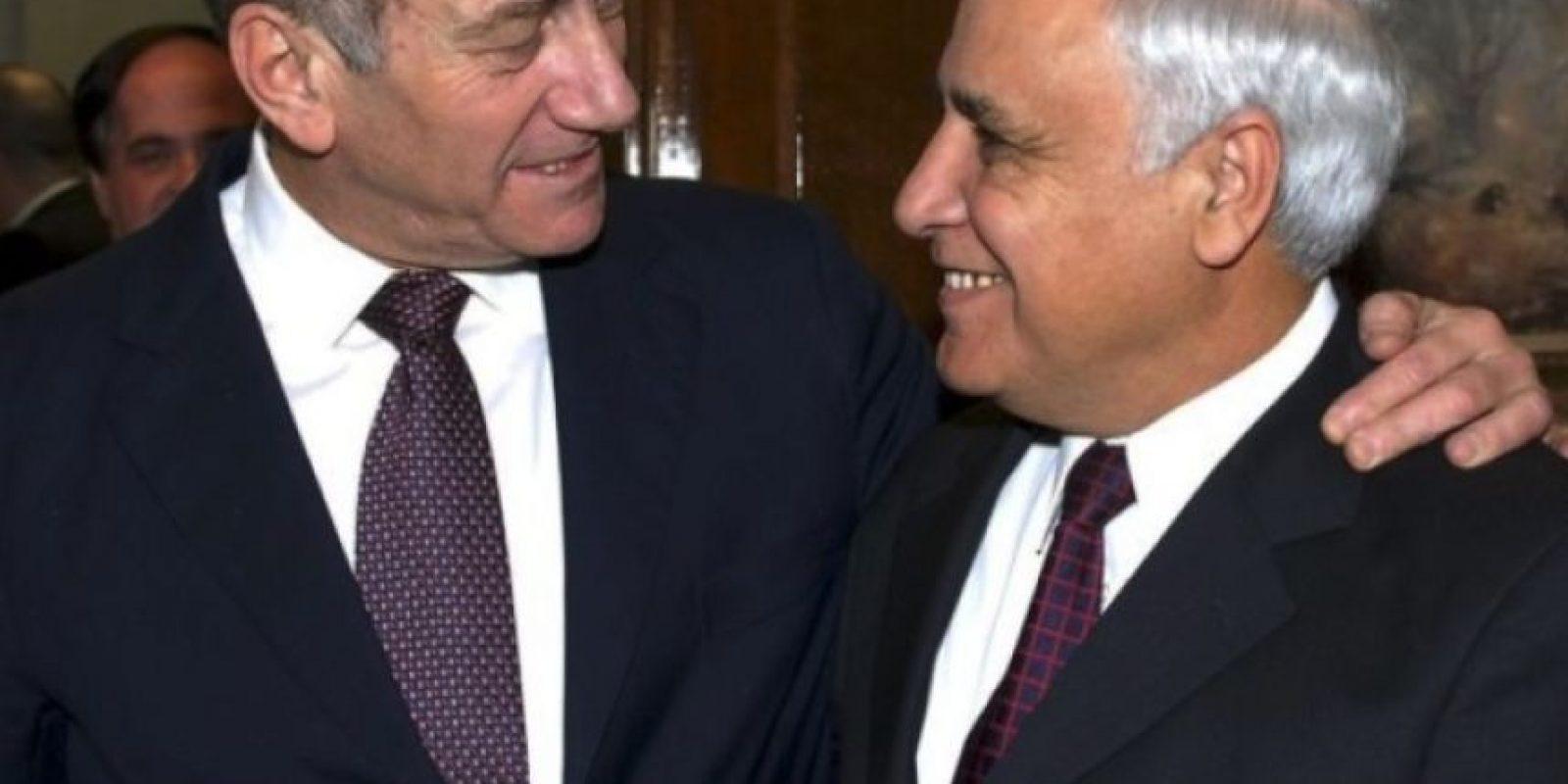Fue primer ministro de Israel entre el año 2000 y 2007, año en que renunció tras una serie de denuncias de acoso sexual y una violación. Foto: Getty Images