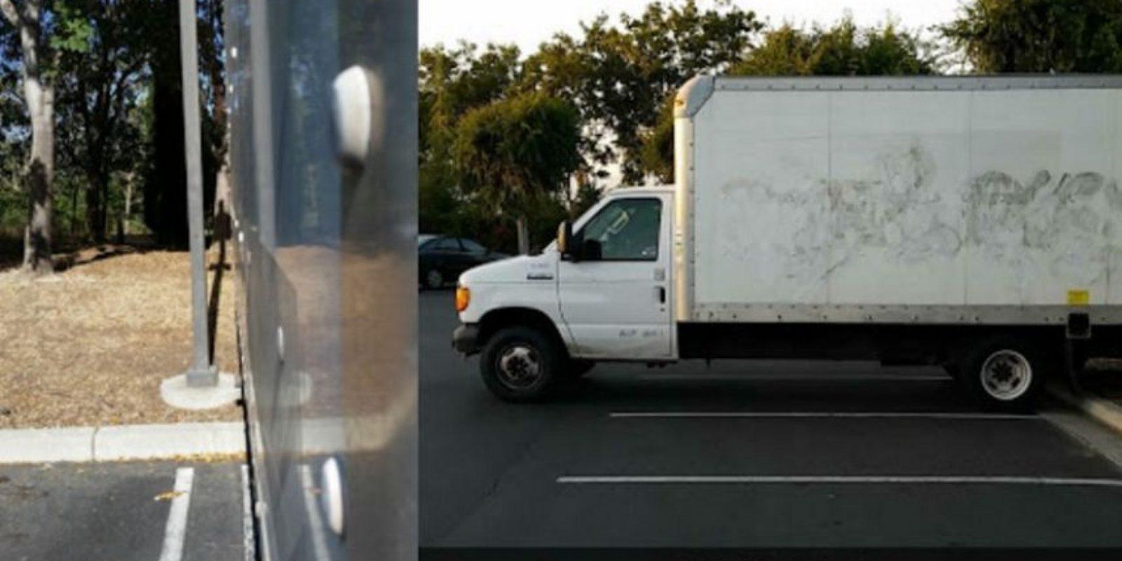 Se encuentra en el estacionamiento de Google. Foto:vía frominsidethebox.com
