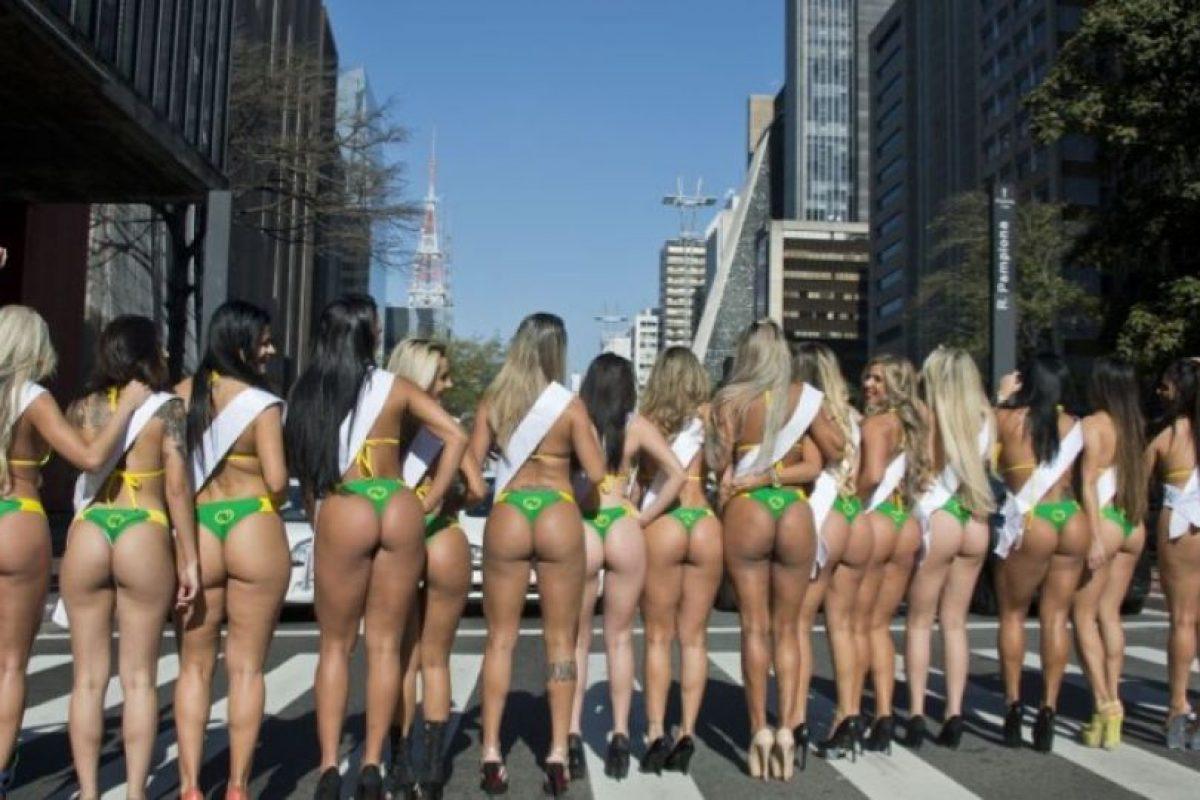 Esta competencia busca a la chica con mejor trasero del país. Foto:APF