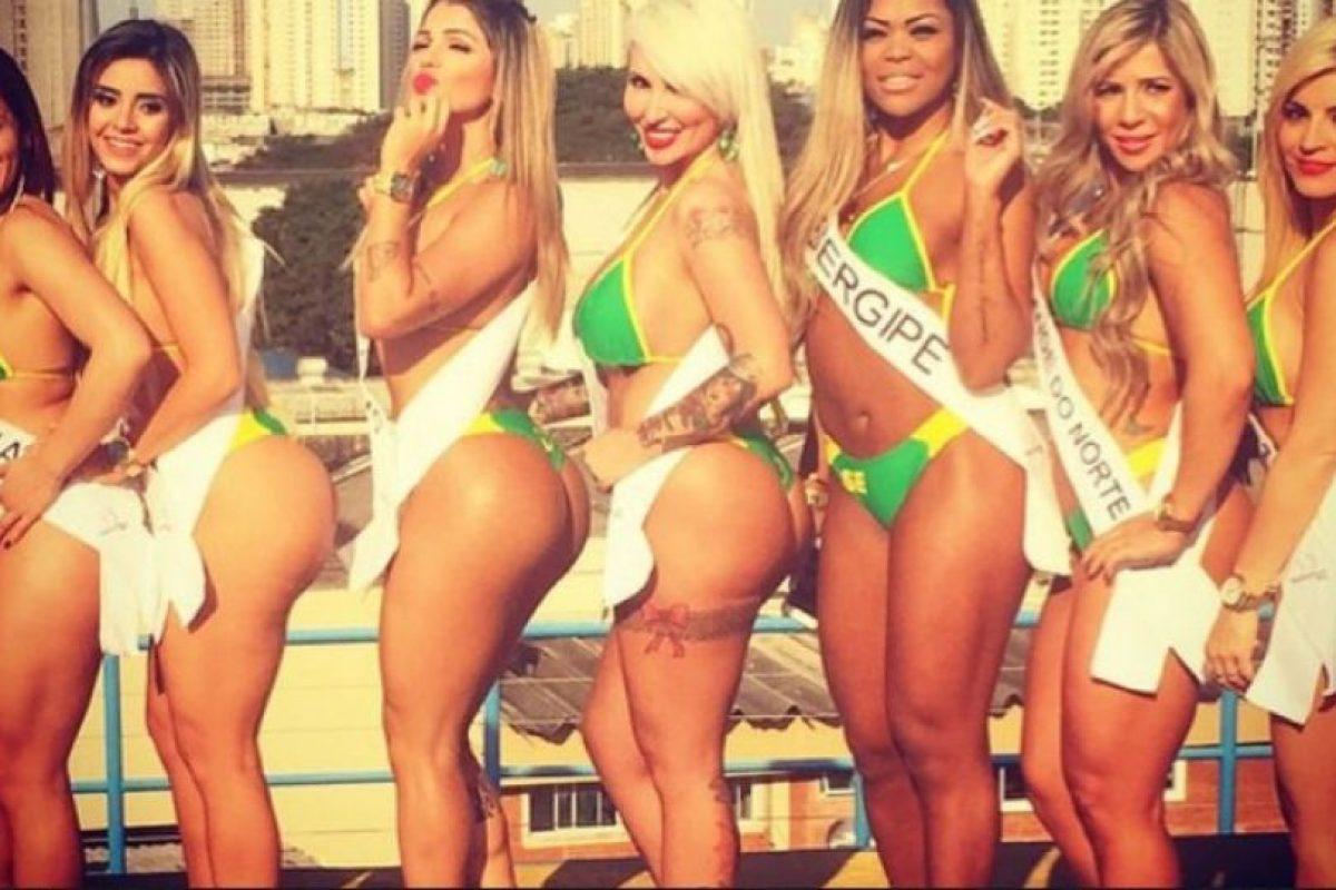 Primero se hacen las competencias regionales y después, una representante de cada departamento de Brasil accede a la gran final. Foto:Instagram/camyla_gomes_