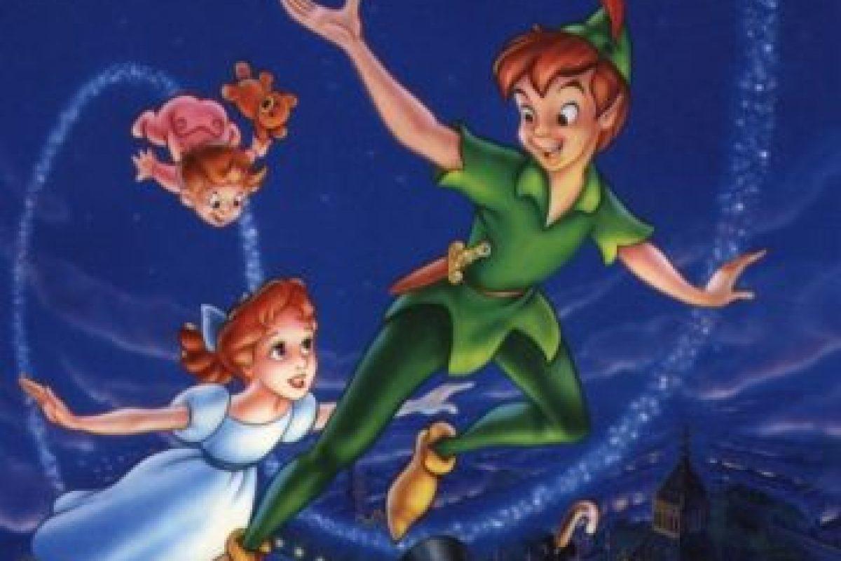 Peter Pan en el país de nunca jamás. Foto:Disney