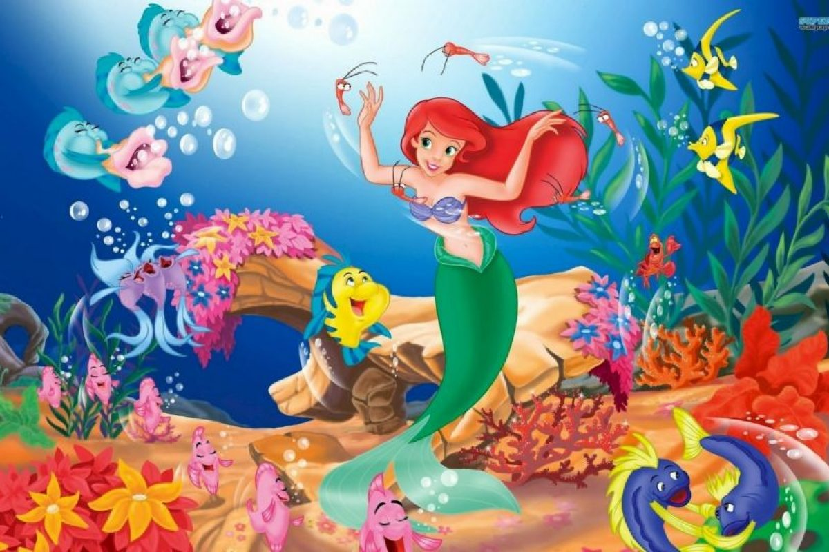 La sirenita. Foto:Disney