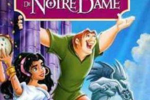 El jorobado de Notre Dame. Foto:Disney