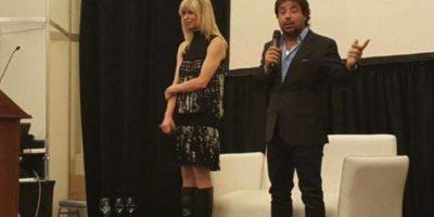 Ya se había divorciado de Scioli, pero volvieron a estar juntos Foto:Facebook.com/rabolinikarina