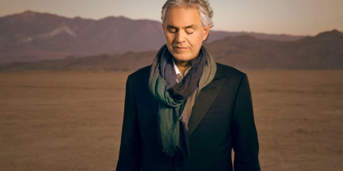 Andrea Bocelli presenta las mejores canciones de películas en