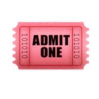 Boleto de admisión. Foto:vía emojipedia.org
