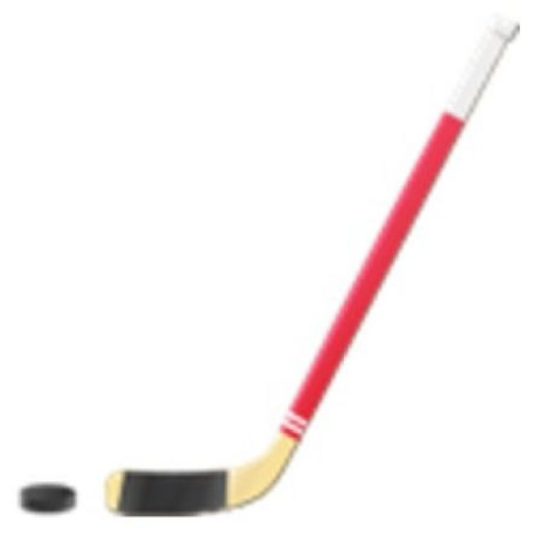 Disco y palo de hockey. Foto:vía emojipedia.org