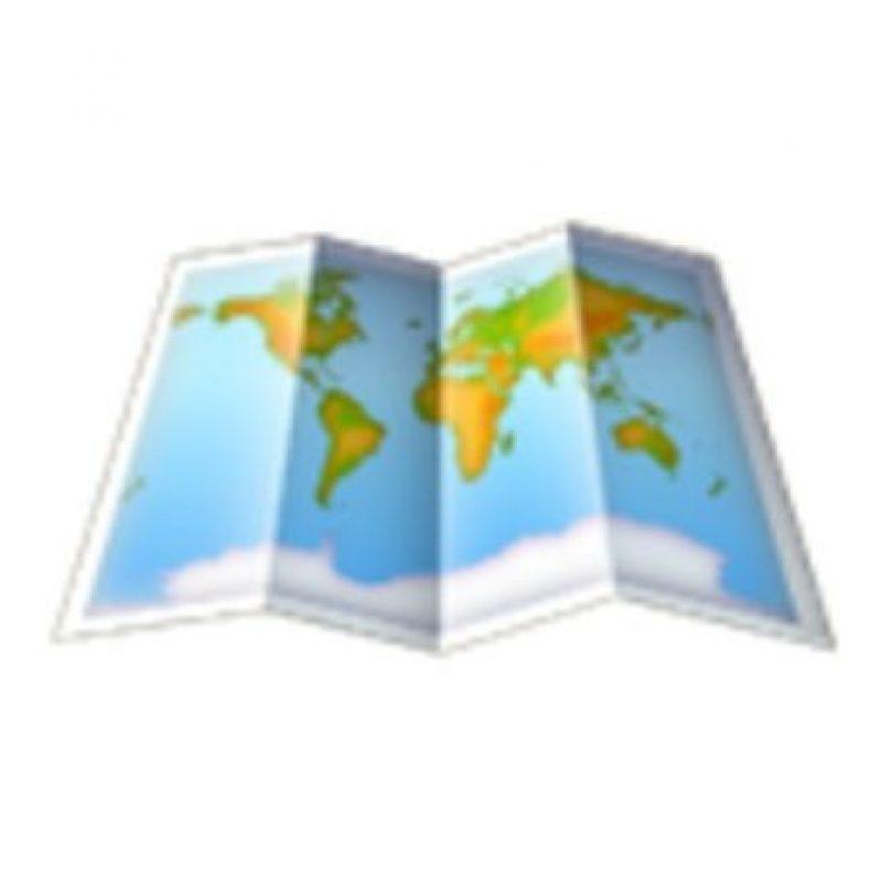 Mapa. Foto:vía emojipedia.org