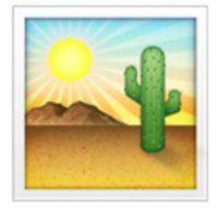 Desierto. Foto:vía emojipedia.org