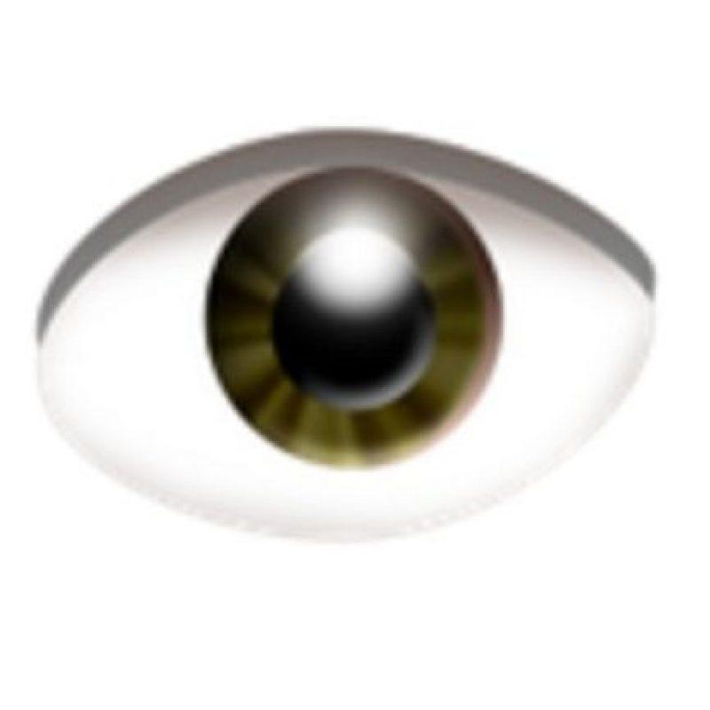 Ojo. Foto:vía emojipedia.org