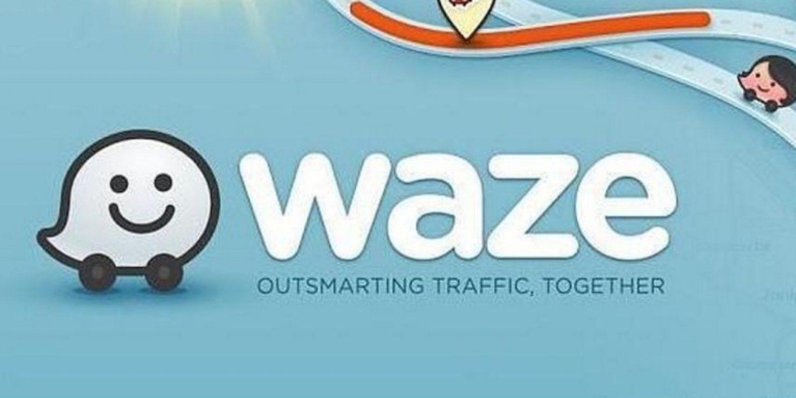 7- Waze. Foto:Waze