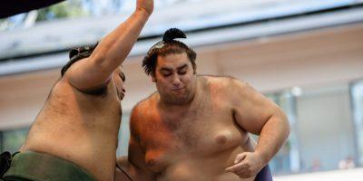 """Los mejores peleadores de sumo se reúnen en los eventos llamados """"honbasho"""", los cuales se realizan seis veces al año y tienen una duración de 15 días. Foto:Getty Images"""