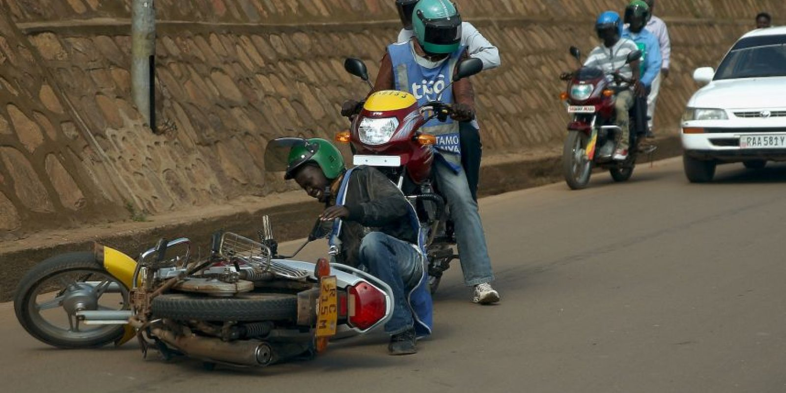 República Dominicana es el país latinoamericano con un de los porcentajes más alto de víctimas usan motos. Foto:Getty Images