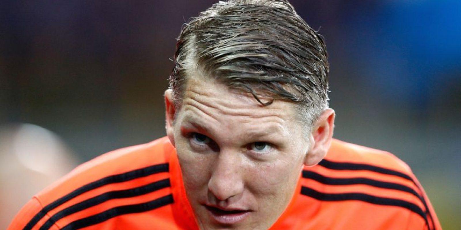 Bastian Schweinsteiger es un futbolista alemán que juega en el Manchester United. Foto:Getty Images
