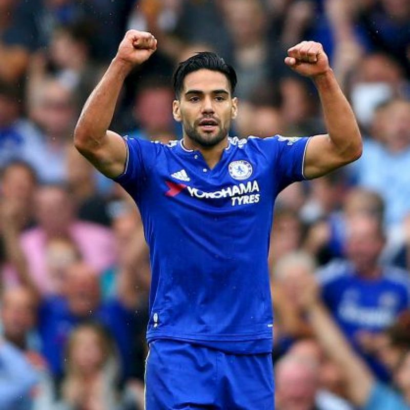 6. Radamel Falcao (Chelsea/Colombia) » 31 millones de dólares. Foto: Getty Images