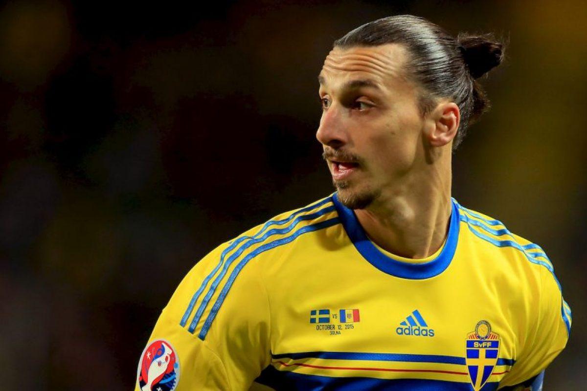 3. Zlatan Ibrahimovic (PSG/Suecia) » 41.8 millones de dólares. Foto:Getty Images