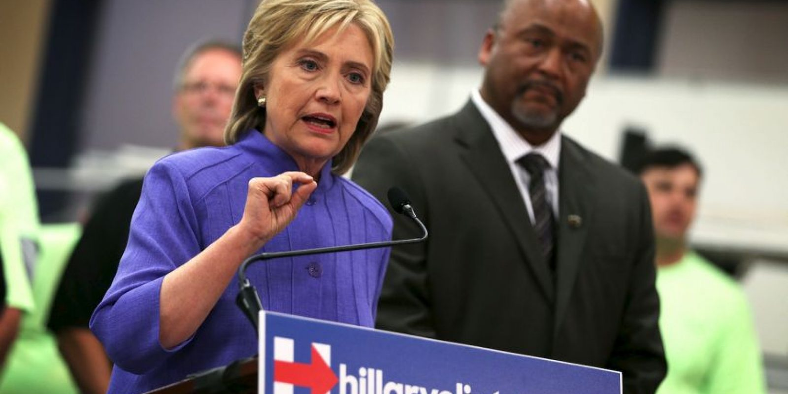 Por su parte esta es la segunda ocasión que Clinton lucha por ella. Foto:Getty Images