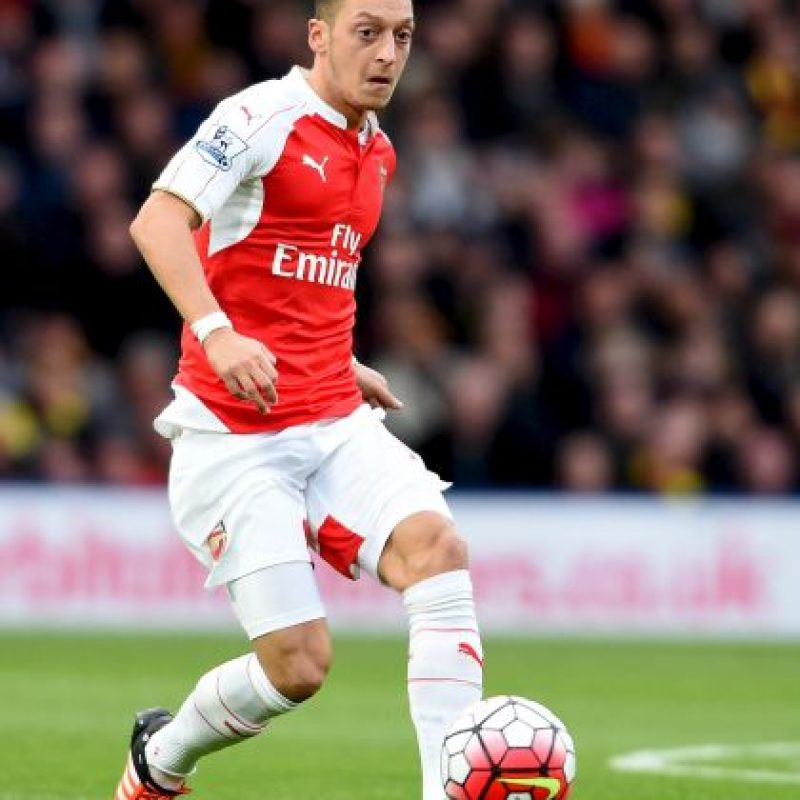 12. Mesut Özil (Arsenal/Alemania) » 19.1 millones de dólares. Foto: Getty Images