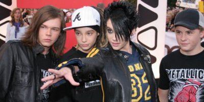 """Debutó junto a su hermano y su banda """"Tokio Hotel"""" con el álbum Schrei. Foto:vía Getty Images"""