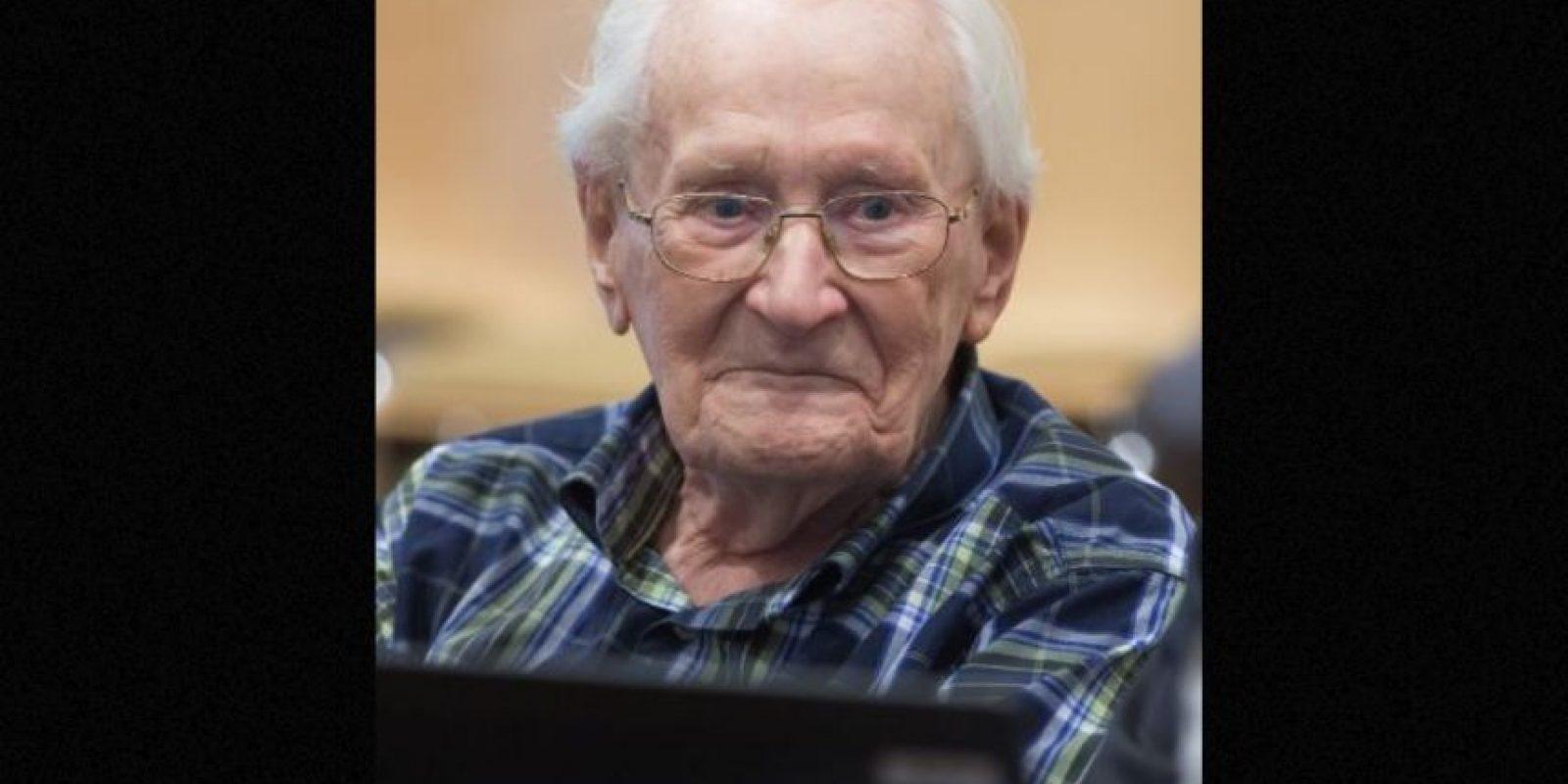 Este comenzó a trabajar en Auschwitz a los 22 años. Foto:vía AP