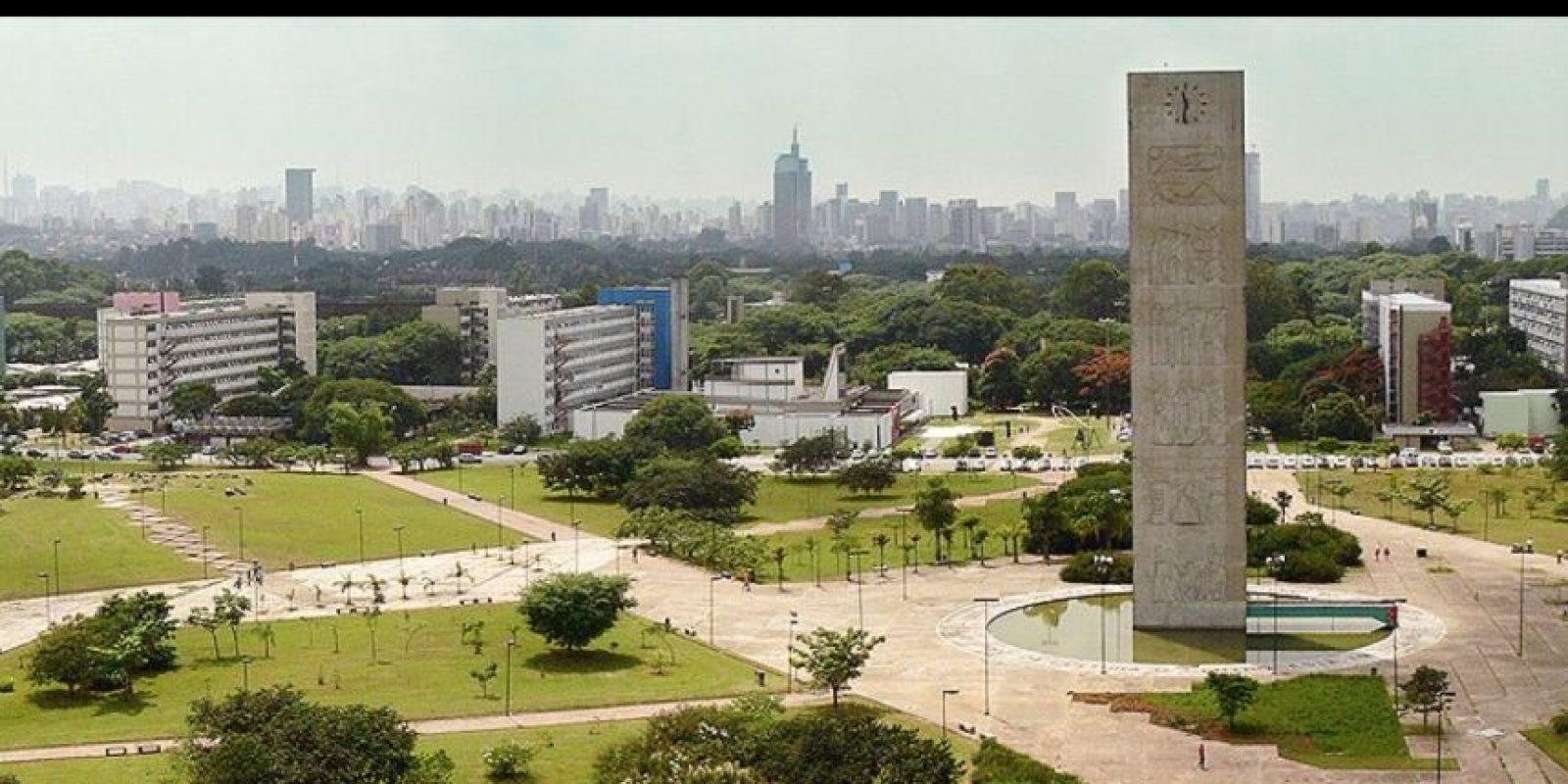 1. Universidad de São Paulo (USP), Brasil Foto:Vía facebook.com/usponline