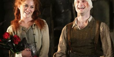 "Billy en ""The Cripple of Inishmaan"" Foto:  Gtety Images"