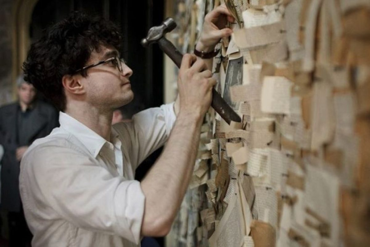 "Allen Ginsberg en ""Kill Your Darlings"" Foto:  facebook.com/danieljacobradcliffe"
