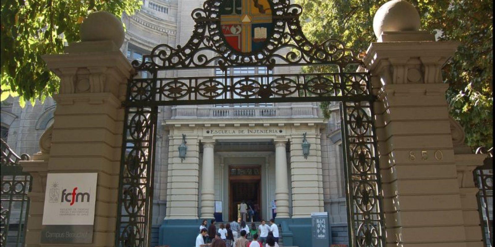 4. Universidad de Chile Foto:Vía facebook.com/uchile